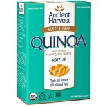 [Ancient Harvest] Quinoa Supergrain Pasta Rotelle, Gluten Free  At least 95% Organic
