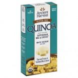 [Ancient Harvest] Quinoa Supergrain Mac & Cheese White Cheddar W/Shells  At least 95% Organic
