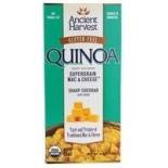 [Ancient Harvest] Quinoa Supergrain Mac & Cheese Sharp Cheddar W/Shells  At least 95% Organic