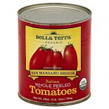 [Bella Terra] Italian Vegetables San Marzano Tomato,Whl/Peeled  At least 95% Organic