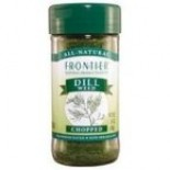 [Frontier Natural Products] Herbs & Spices:c/s=Cut & Sifted,w/c=Wild Crafted,hu=Heat Units Dill Weed, c/s  At least 95% Organic