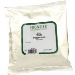 [Frontier Natural Products] Fair Trade Herbs & Spices Peppercorns, White Whole  At least 95% Organic
