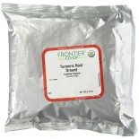 [Frontier Natural Products] Fair Trade Herbs & Spices Tumeric Root, Powder  At least 95% Organic
