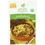 [Simply Organic] Seasoning Packs Jambalaya  At least 95% Organic