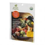 [Simply Organic] Vegetable Seasoning Mix Sesame Ginger  At least 95% Organic