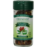 [Frontier Natural Products] Herbs & Spices Chili Peppers, Red, Crushed