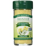 [Frontier Natural Products] Herbs & Spices Mustard Seed, Yellow, Ground