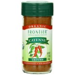 [Frontier Natural Products] Herbs & Spices Cayenne Pepper, Grnd 30,000 HU  At least 95% Organic