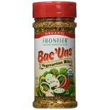 [Frontier Natural Products] Herbs, Spice Blends & Mixes in Resealable Pouches Bac`Uns  At least 95% Organic