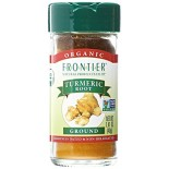 [Frontier Natural Products] Fair Trade Herbs & Spices Turmeric Root, Ground  At least 95% Organic