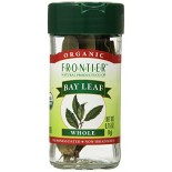 [Frontier Natural Products] Herbs & Spices Bay Leaf, Whl  At least 95% Organic