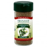 [Frontier Natural Products] Herbs & Spices Cardamom Seed, Ground  At least 95% Organic