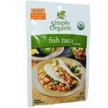 [Simply Organic] Seasoning Packs Fish Taco  At least 95% Organic