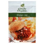 [Simply Organic] Seasoning Packs Sloppy Joe  At least 95% Organic