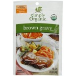 [Simply Organic] Sauces/Gravies Gravy, Brown  At least 95% Organic
