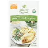 [Simply Organic] Sauces/Gravies Gravy, Roasted Chicken  At least 95% Organic