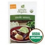 [Simply Organic] Seasoning Packs Mole Sauce  At least 95% Organic