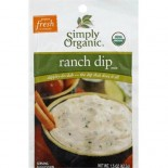 [Simply Organic] Dips Ranch  At least 95% Organic