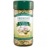 [Frontier Natural Products] Saltless Seasonings (no salt, sugar or msg) Garlic N Herb