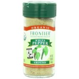 [Frontier Natural Products] Fair Trade Herbs & Spices Pepper, Ground White  At least 95% Organic