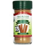 [Frontier Natural Products] Fair Trade Herbs & Spices Cinnamon, Ceylon, Ground  At least 95% Organic