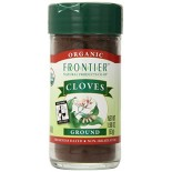 [Frontier Natural Products] Fair Trade Herbs & Spices Cloves, Ground  At least 95% Organic