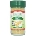[Frontier Natural Products] Fair Trade Herbs & Spices Ginger Root, Powder  At least 95% Organic