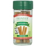 [Frontier Natural Products] Fair Trade Herbs & Spices Cinnamon Sticks  At least 95% Organic