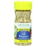 [Frontier Natural Products] Herbs, Spice Blends & Mixes All Purpose, Salt Free  At least 95% Organic