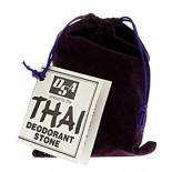 [Deodorant Stones Of America] Thai Thai Stone In Velvet Pouch