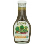 [Annie`S Naturals] Vinaigrettes Herb  At least 95% Organic