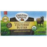 [Organic Valley] Butter European Style Cultured  At least 95% Organic