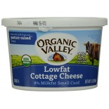 [Organic Valley] Cottage Cheese 2% Fat, Low Fat  At least 95% Organic