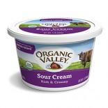 [Organic Valley] Sour Cream 4% Fat, Regular  At least 95% Organic