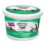 [Organic Valley] Sour Cream 2% Fat, Low Fat  At least 95% Organic