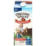 [Organic Valley] Organic Milk UP, 2%, RF, Lactose Free  At least 95% Organic