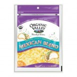 [Organic Valley] Cheese - Pasteurized Varieties; Rennetless Mexican Blend, Shredded  At least 95% Organic