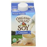 [Organic Valley] Organic Soy Beverage Creamer, French Vanilla  At least 95% Organic