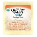 [Organic Valley] Cheese - Unpasteurized Raw Milk Varieties; Rennetless Monterey Jack  At least 95% Organic