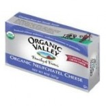 [Organic Valley] Cheese - Pasteurized Varieties; Rennetless Neufchatel Cheese  At least 95% Organic