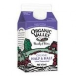 [Organic Valley] Half & Half Ultra Pasteurized  At least 95% Organic