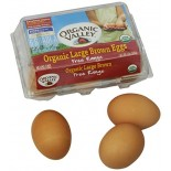 [Organic Valley] Eggs Brown, Large  At least 95% Organic