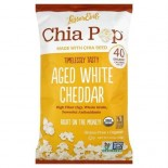 [Lesser Evil] Chia Pop Aged White Cheddar  At least 95% Organic