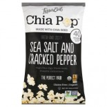 [Lesser Evil] Chia Pop Salt & Cracked Pepper  At least 95% Organic