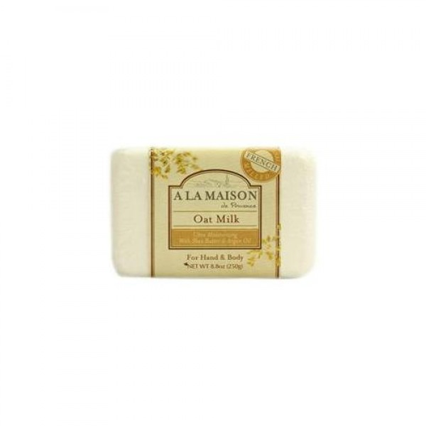 [A La Maison] French Solid Bar Soap Oat Milk