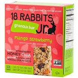 [18 Rabbits] Granola Bars Mimi Merry Mango Strawberry  At least 70% Organic