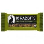 [18 Rabbits] Granola Bars Date Pecan & Coconut  At least 95% Organic