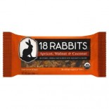 [18 Rabbits] Granola Bars Apricot Walnut & Coconut  At least 95% Organic