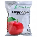 [Crispy Green] Crispy Fruit, 6 Pack Bags Apple