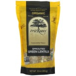 [Tru`Roots]  Green Lentils, Sprouted  100% Organic